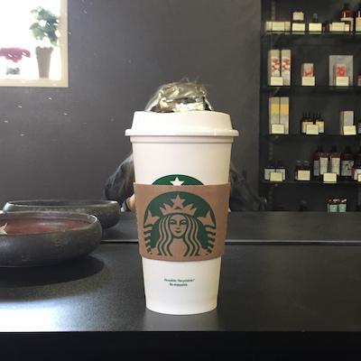 Starbucks and a hair cut!