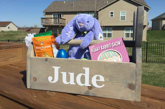 Jude's Easter Basket | Ellie And Addie