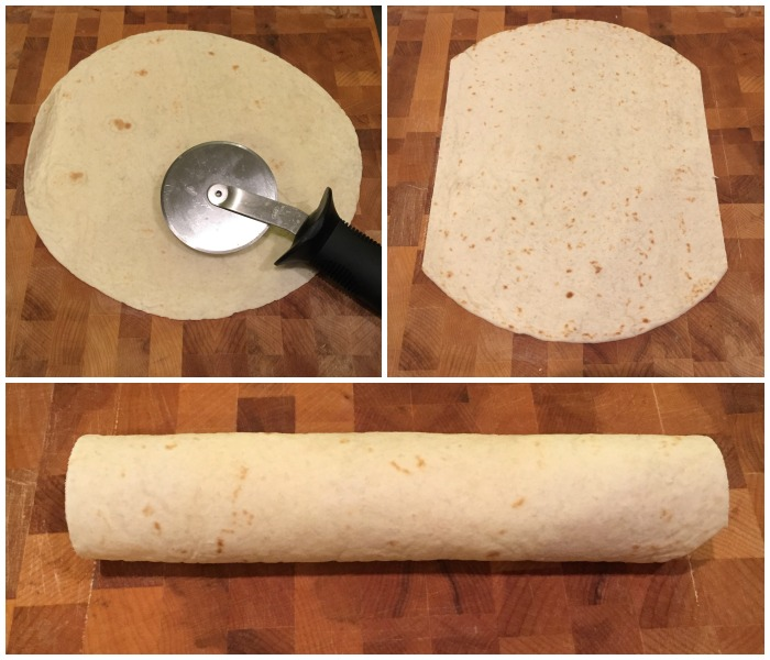 Easy Tortilla Roll Ups | Ellie And Addie