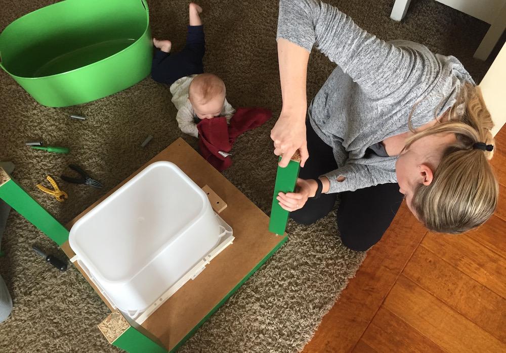 DIY Lego Table | Ellie And Addie