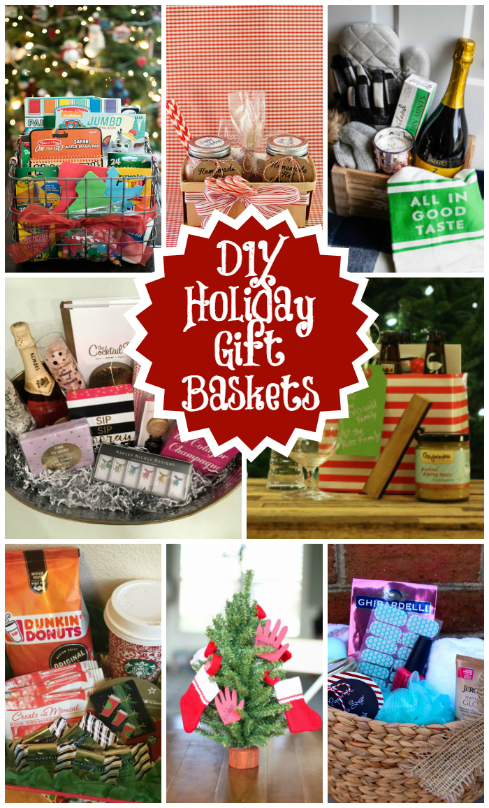 DIY Holiday Gift Baskets