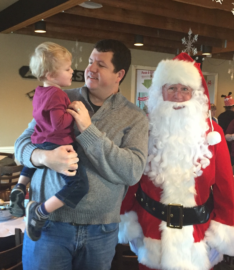 Breakfast with Santa at Eckert's | Ellie And Addie