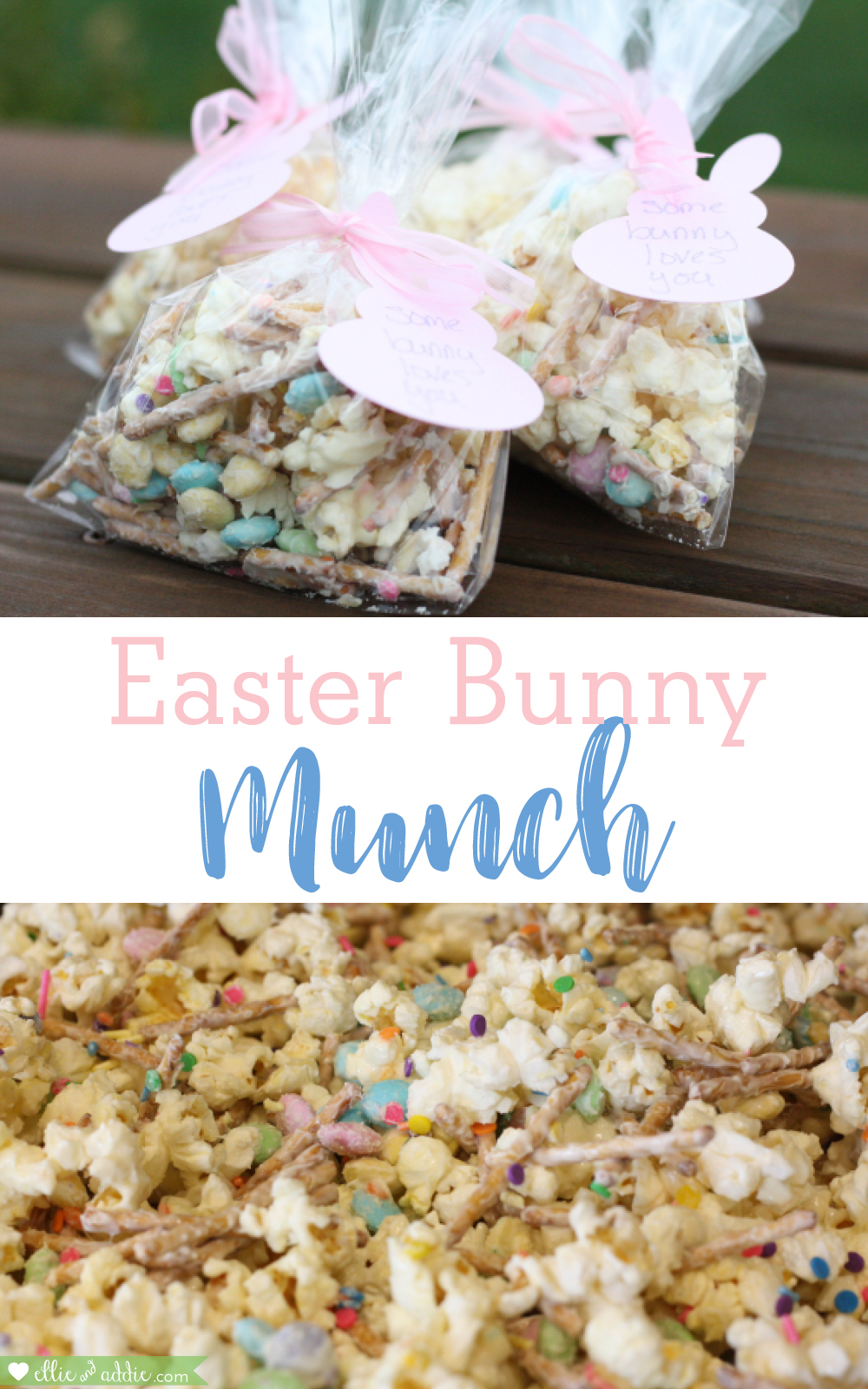 Easter Bunny Munch | Ellie And Addie