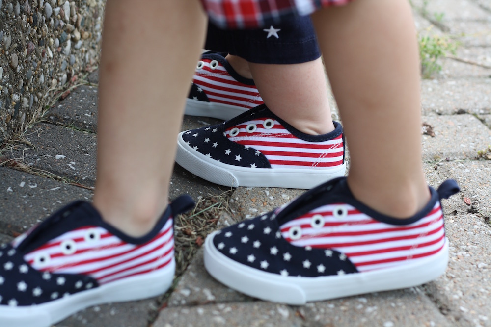 Red White And Cute with Gymboree   Ellie And Addie