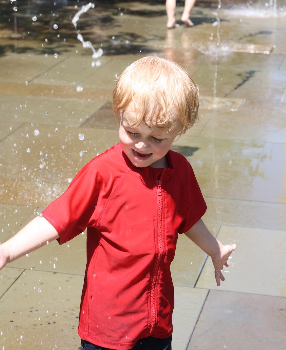 Splish Splash with SwimZip   Ellie And Addie
