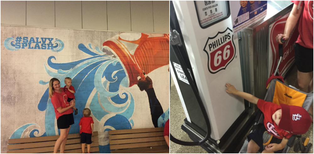 Boys of Summer with Phillips 66 | Ellie And Addie