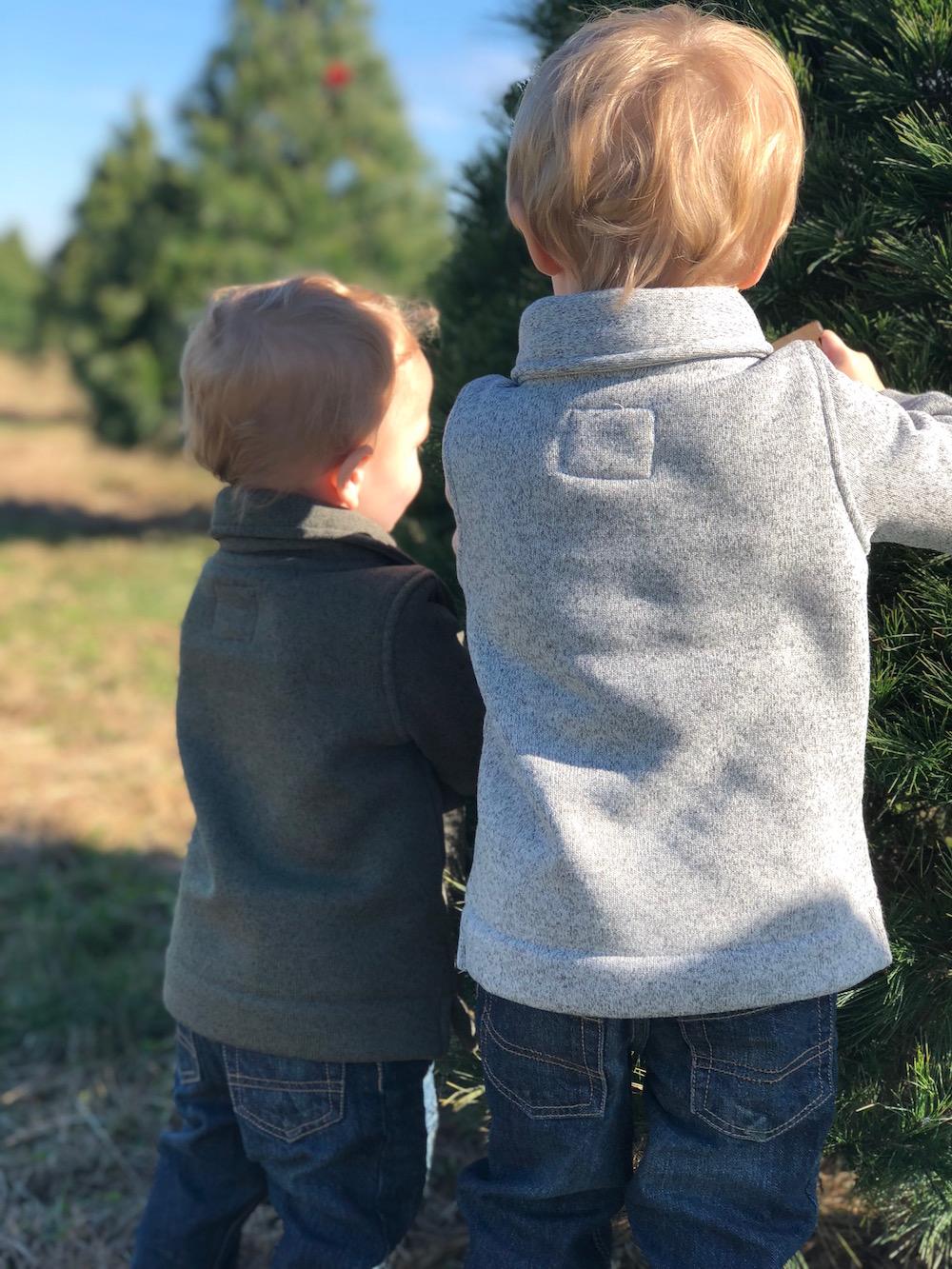 Toddler Boy Holiday Outfits with OshKosh B'gosh   Ellie And Addie