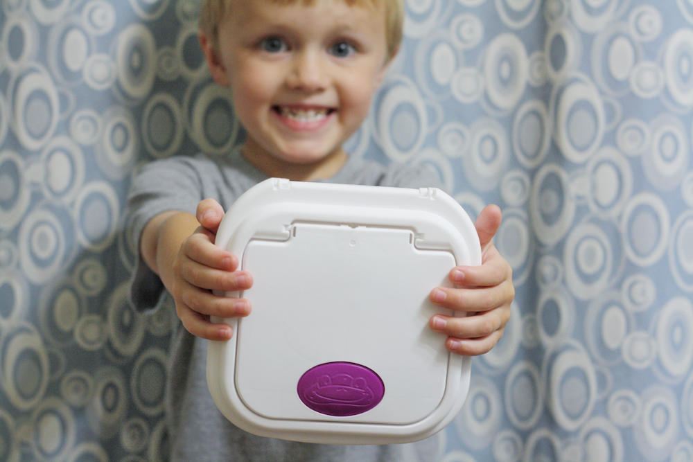 Potty Independence with Kandoo Flushable Wipes   St. Louis Lifestyle Blogger Liz from Ellie And Addie