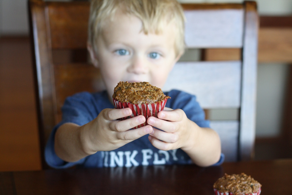Blackberry Bran Muffins - Be A Good Cookie with OXO - Blackberry Bran Muffin Recipe from St. Louis Family and Lifestyle Blogger Liz at Ellie And Addie